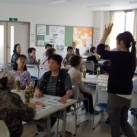 9/30(金)に配食弁当調理ボランティアさん向けの研修会を担当しました!