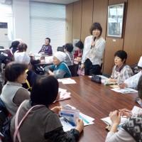 3/21(火)朝日町にて糖尿病重症化予防教室を担当しました!