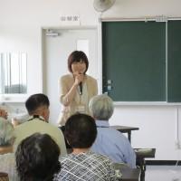 6/27(火)大江町さんの健康づくり教室を担当しました!