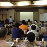 8/8㈫鈴川敬寿園さまの地域向け講座を担当しました!