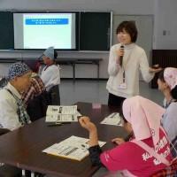 1/17(水)に大江町さまにて介護食調理講座を担当しました!