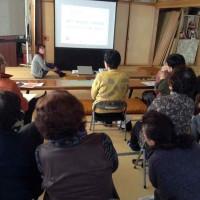12/20(水)に東根市大林老人クラブさまにて「もっと元気教室」を担当しました!