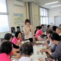 6/9(土)に大江町食生活改善推進協議会さまの研修会を担当しました!