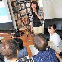 6/13(水)鉄砲町5区サロンさまの介護予防講座を担当しました!