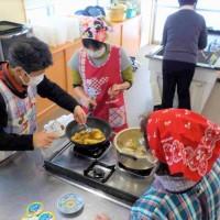 1/29(火)に飯豊町にて介護家族向け料理教室を担当しました!