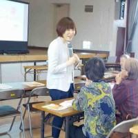 6/12(水)に山形市さま主催の介護予防講話in西部公民館を担当しました!