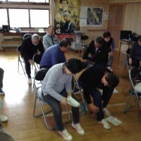 1/30(木)に山形市さま主催の【介護予防教室in上宝沢】を担当しました!